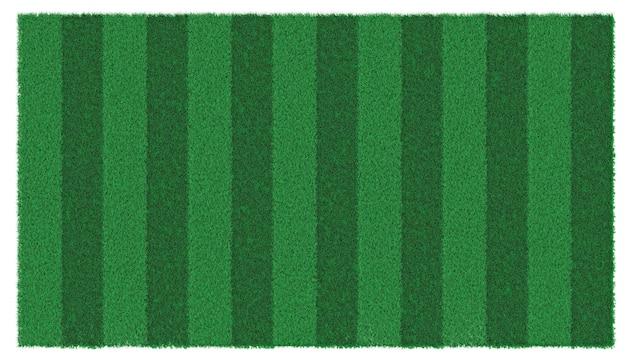 Een stuk groen, weelderig grasrijk gazon Premium Foto