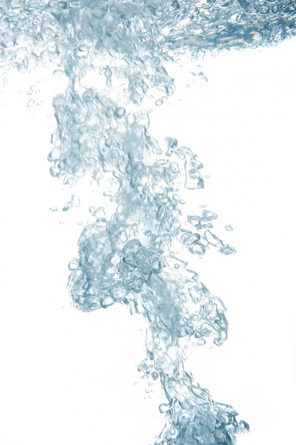 Een zoet water abstract splash Gratis Foto