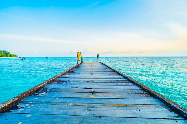 Eiland van de maldiven Gratis Foto