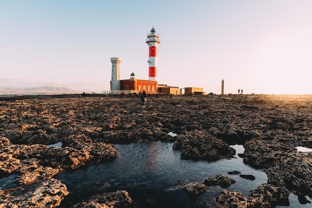 El cotillo vuurtoren, fuerteventura, canarische eilanden, spanje Gratis Foto