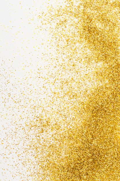 Elegante gouden glitter achtergrond Gratis Foto