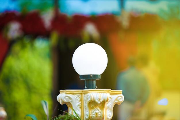 Elektrische jhumar in thuis decor Premium Foto