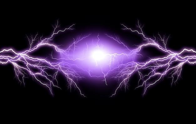 Elektrische verlichting Premium Foto