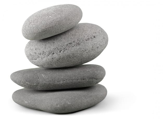Evenwichtige stenen Premium Foto