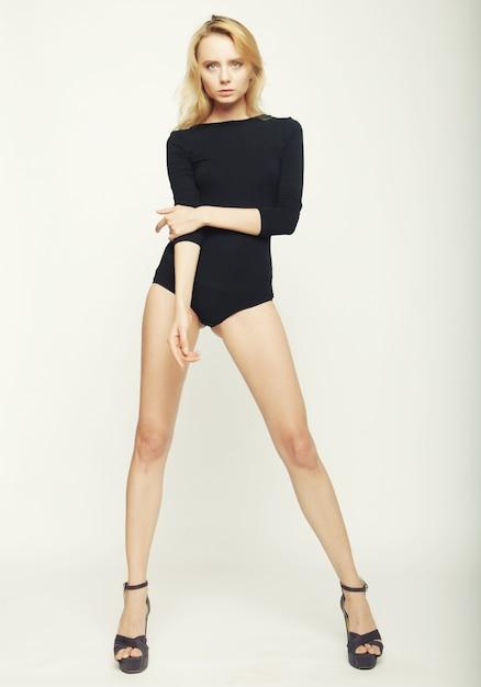 Fashion model vrouw Premium Foto