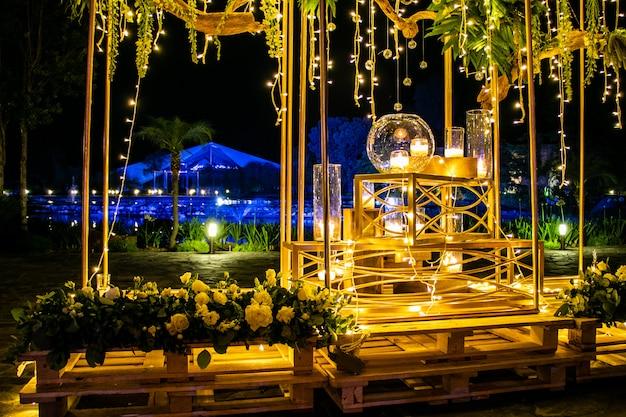Feestdecoratie Premium Foto