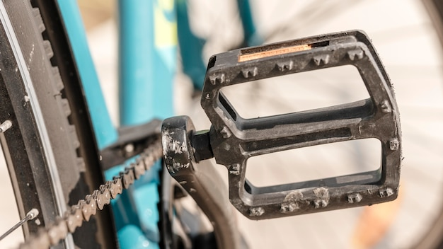 Fiets pedaal close-up Gratis Foto