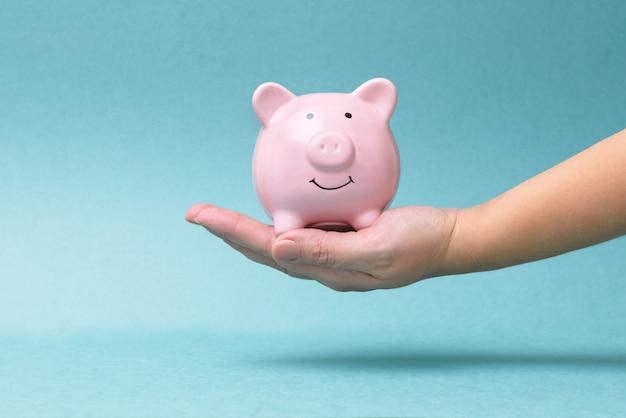 Financiën, economie of geld besparen, valuta's Premium Foto