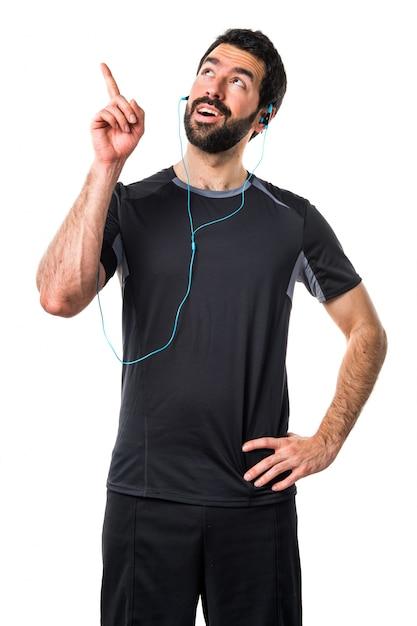 Fitness gezonde hardloper geluk sport Gratis Foto