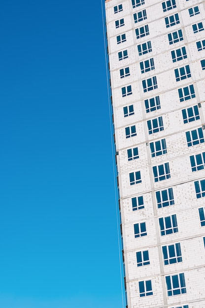 Flatgebouw constructie Premium Foto