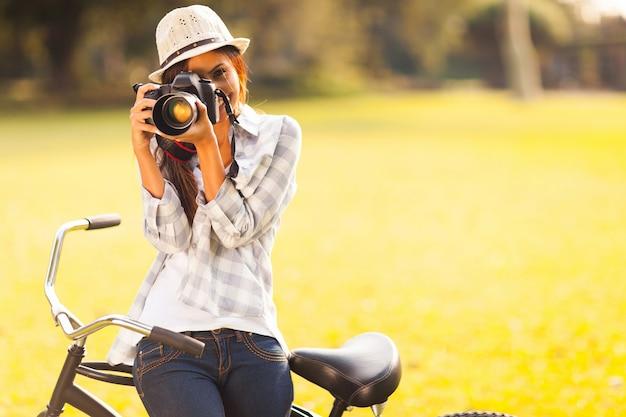 Fotografie vrouw Premium Foto