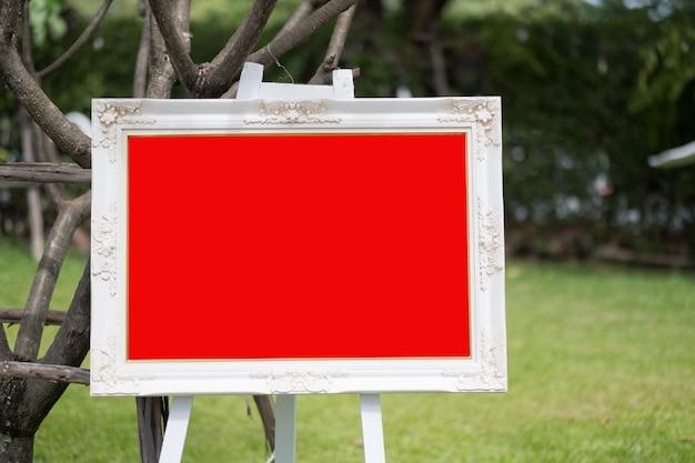 Fotolijst, leeg kader voor tekst Premium Foto