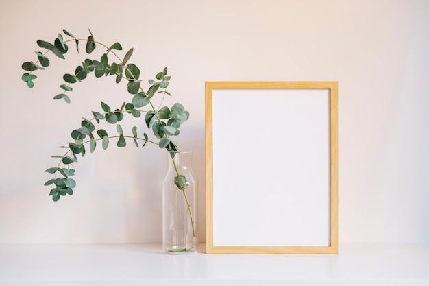 Frame en tak aan de linkerkant Gratis Foto