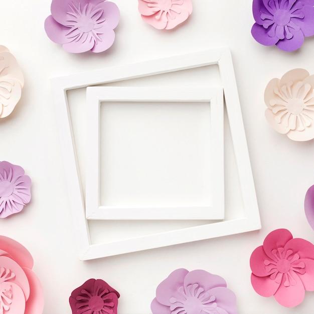 Frame van elegante ornamenten Gratis Foto