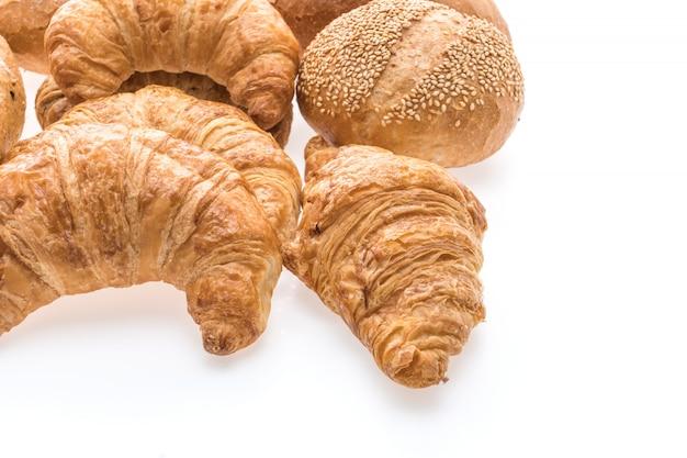 Frans botercroissantbrood en bakkerij Gratis Foto