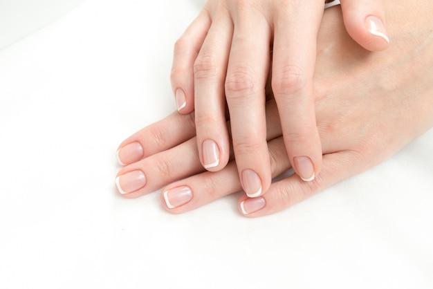 Frans manicure proces Gratis Foto