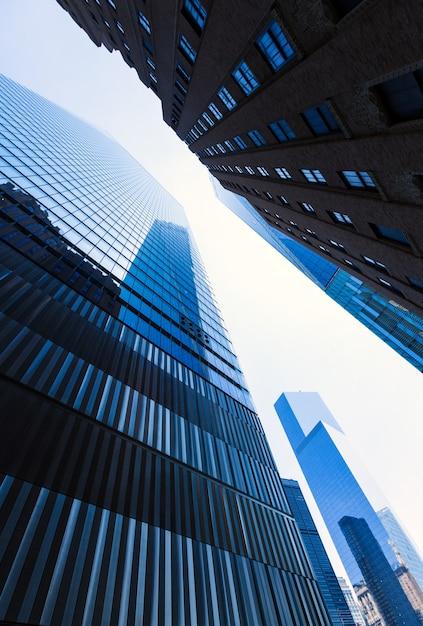 Freedom tower manhattan-wolkenkrabbers new york Premium Foto