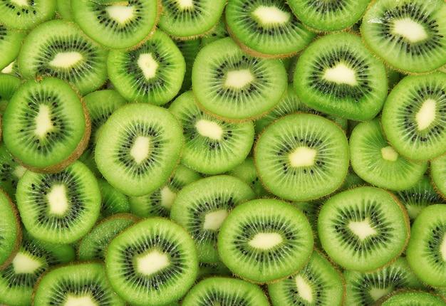 Fruit kiwi totale achtergrond Premium Foto