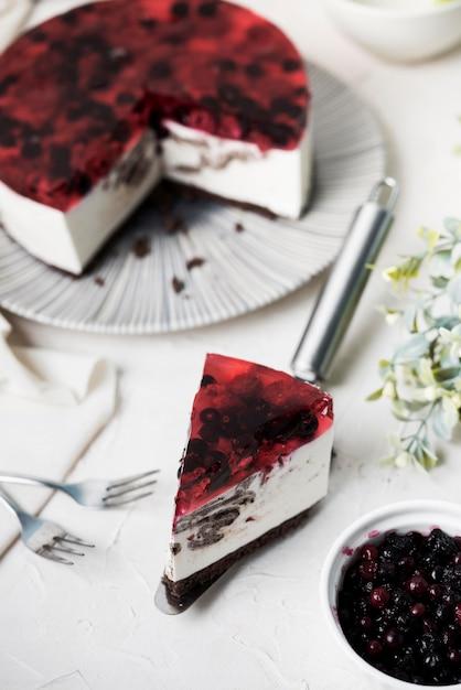 Fruitig cakeplak assortiment Gratis Foto