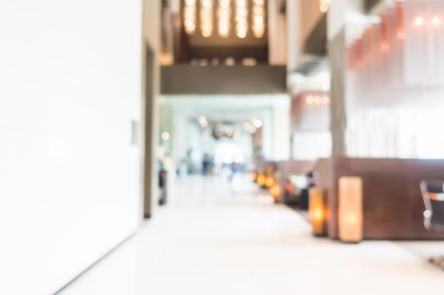 Fuzzy corridor met lampen foto gratis download