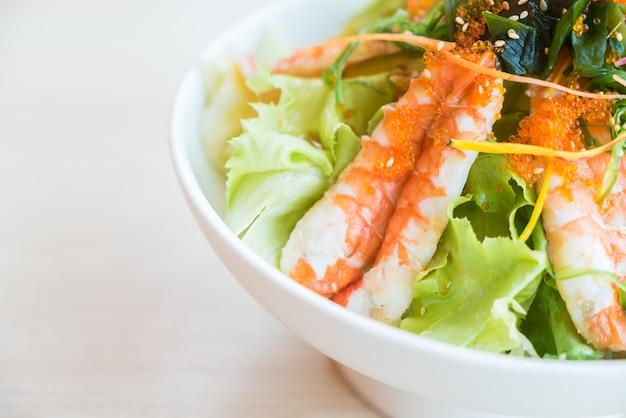 Garnalen salade Gratis Foto