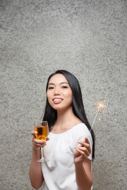 Gast op nieuwjaarsfeest Gratis Foto