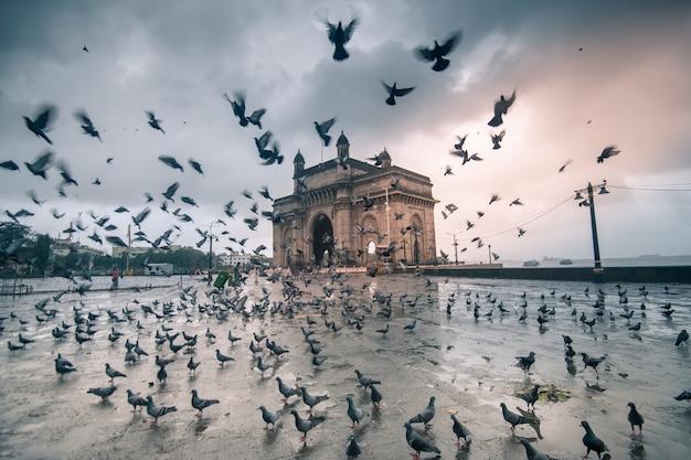 Gateway of india mumbai Premium Foto