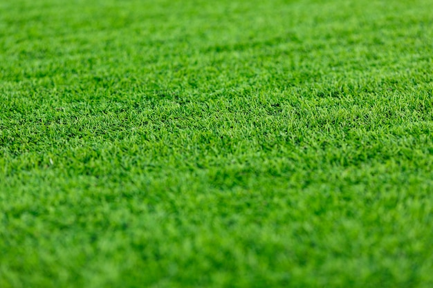 Gazons, kunstmatige, sportachtergrond Premium Foto
