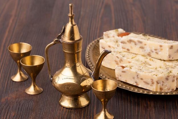 Gebakjes van het close-up de islamitische nieuwe jaar Gratis Foto