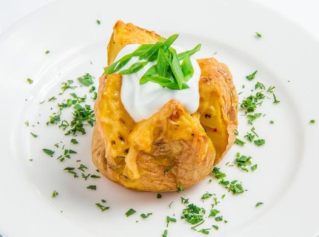 Gebakken aardappel Gratis Foto