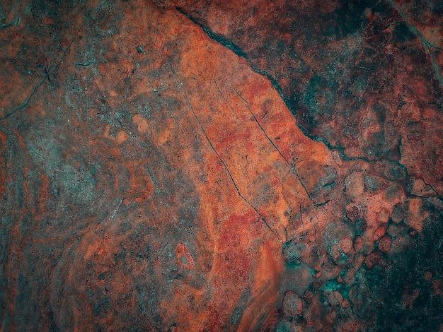 Gebarsten steen oppervlaktestructuur. Premium Foto
