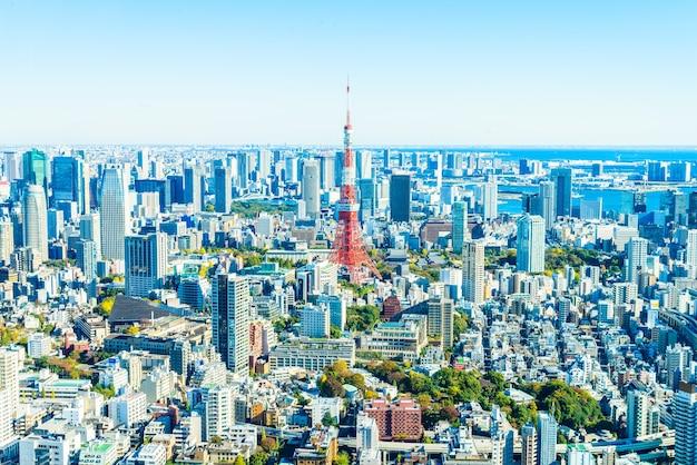 Gebouw toren skyline schemer landmark Gratis Foto