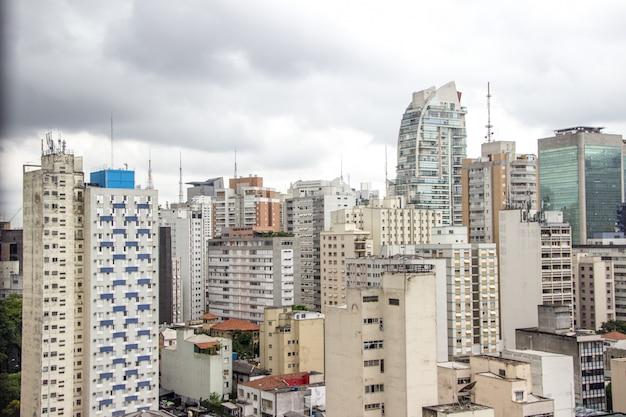 Gebouwen in het centrum van sao paulo Premium Foto