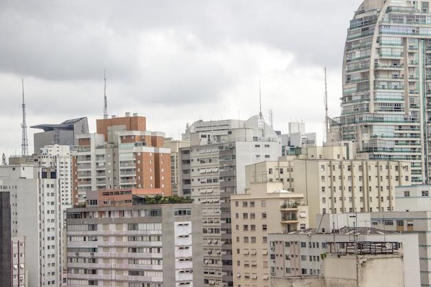 Gebouwen in het centrum van são paulo Premium Foto