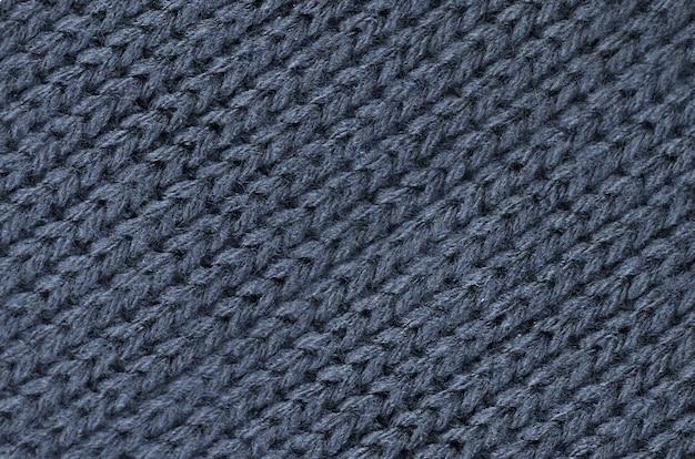Gebreide katoenen doek, wolstructuur Premium Foto