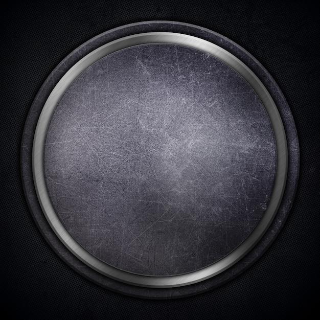 Gedetailleerd abstract metallic met krassen en vlekken Gratis Foto
