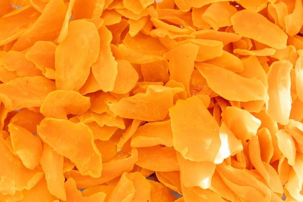 Gedroogd oranje fruitoppervlak Gratis Foto