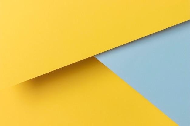 Geel en blauw kasten vorm Gratis Foto