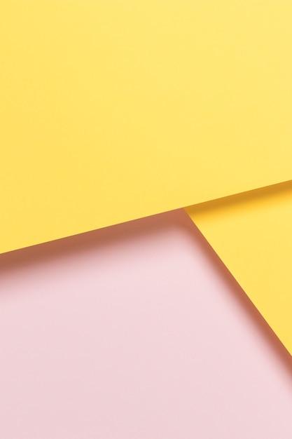 Geel en roze kast Gratis Foto