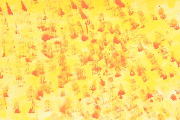 Geel gekleurd aquarel achtergrond Gratis Foto