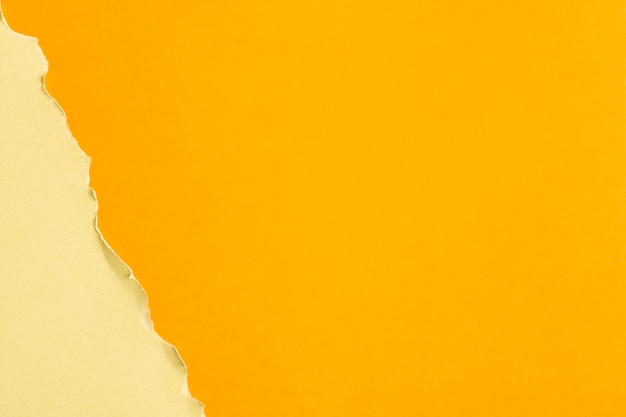 Geel getinte kartonnen vellen met kopie ruimte Gratis Foto