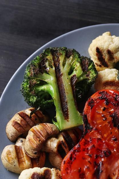 Gegrilde groentes Gratis Foto