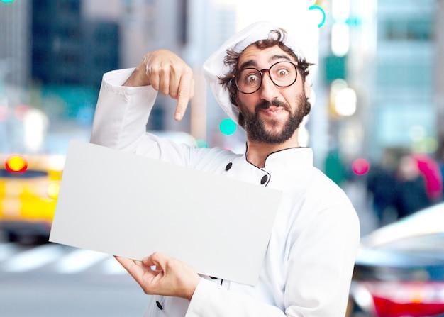 Gek chef verrast meningsuiting Gratis Foto