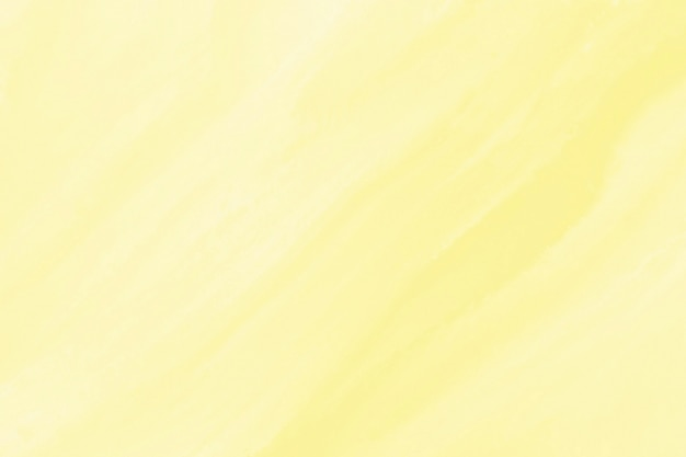 Gele aquarel textuur achtergrond Gratis Foto