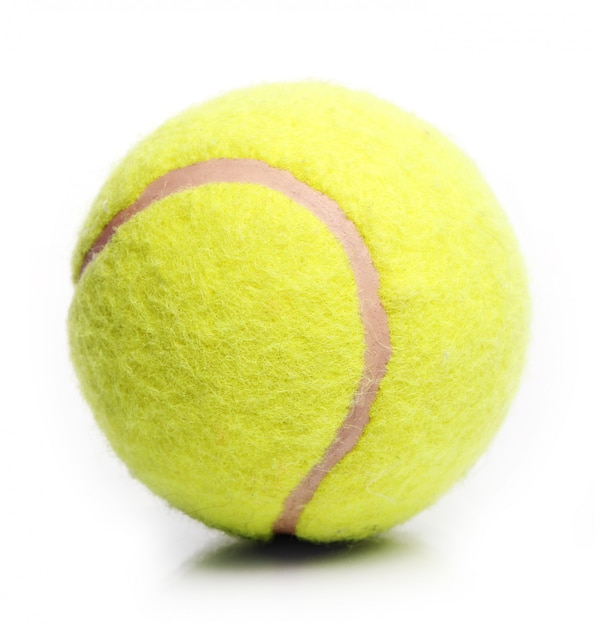 Gele tennisbal Gratis Foto