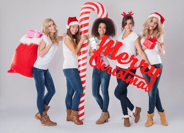 Gelukkig kerstfeest voor elk land Gratis Foto