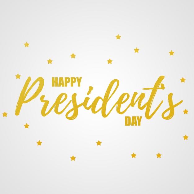 Gelukkige dag van de voorzitters Premium Foto
