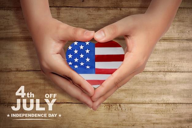 Gelukkige onafhankelijkheidsdag Premium Foto