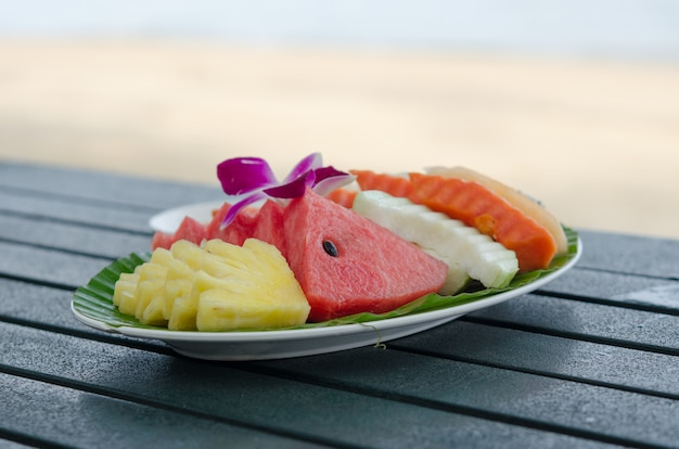 Gemengd fruit Premium Foto
