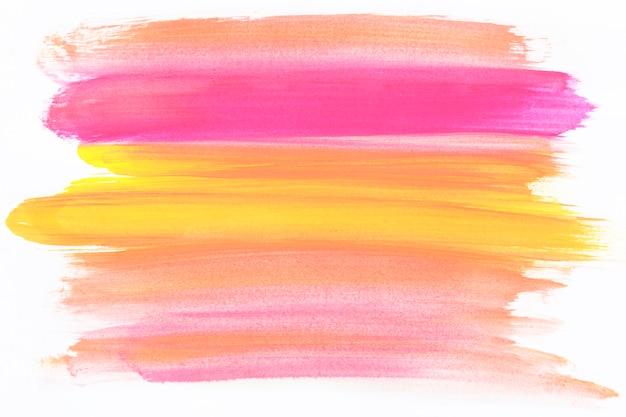 Gemengde kleuren penseelstreek Gratis Foto
